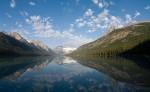 Glacier Lake Alberta Panorama